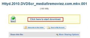 mediafire link on file
