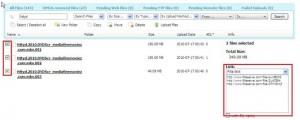 remote upload to Fileserve