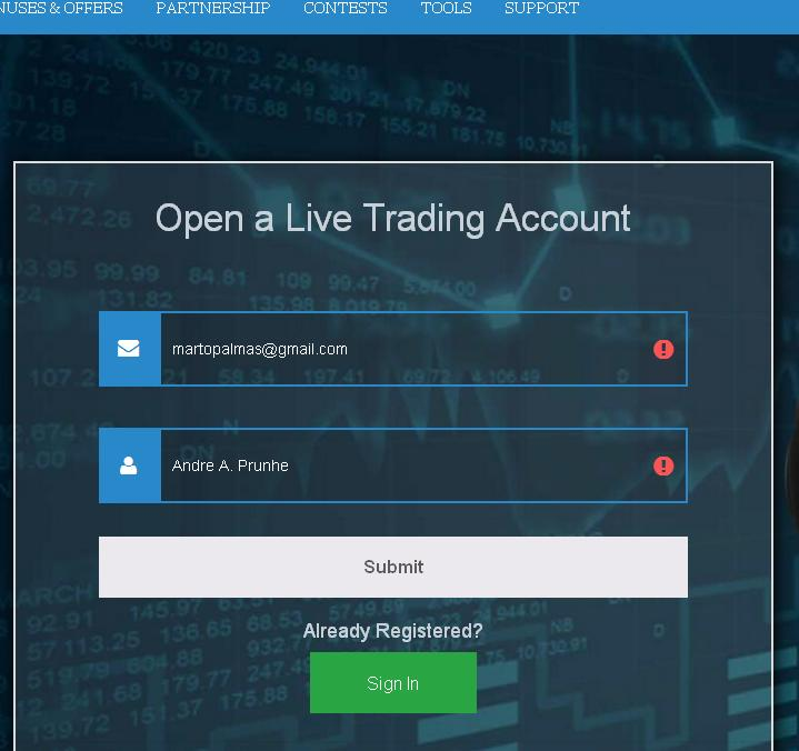 Review of receiving the Forexmart no deposit bonus (up to $300) | Share and Earn