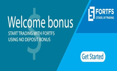 FortFS welcome bonus $35 for new traders