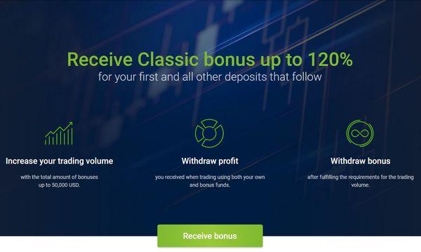 classic bonus roboforex