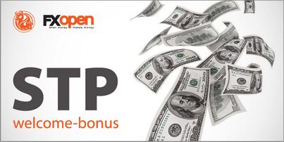 get fxopen welcome bonus without deposit