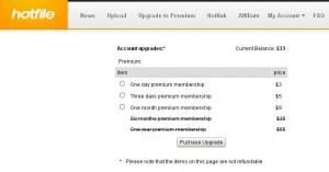 How to buy or purchase premium account membership at famous file hosts?