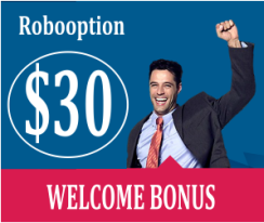 Robooption welcome bonus