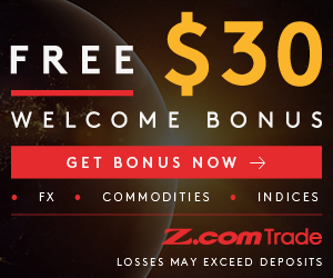 get welcome bonus at Z.com Trade